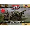1/72 First To Fight Kits 100mm Polish wz. 14/19 Howitzer,...