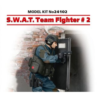 1/24 ICM S.W.A.T. Team Fighter #2. Correct details of uniform, arm?