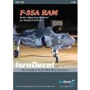 1/48 IsraDecal Studio Lockheed-Martin F-35A RAM (Radr...