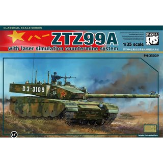 1/35 Panda ZTZ-99A With Laser simulation Countermine System