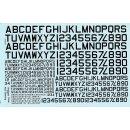 1/72 Warbird Decals U.S. Navy lettering (2 sheets per...