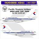 1/144 Thunderbird Models Pacific Western Airlines PWA...