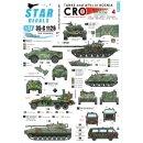 1/35 Star Decals HVO (Croat). M-84, Soviet BRDM-2 2S1...
