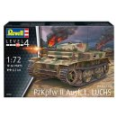 1/72 Revell PzKpfw II ausf.L  LUCHS