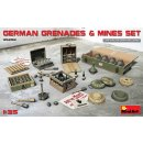 1/35 Mini Art German Grenades & Mines Set
