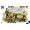 1/35 Riich Models British 3 inch Mortar Team set (North...