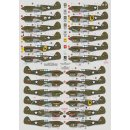 1/72 DK Decals Curtiss P-40 Darwin Defenders 49th FG over...