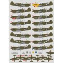 1/72 DK Decals Curtiss P-40E over the Philippines, Java...