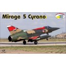 1/72 R.V.Aircraft Dassault Mirage 5 Cyrano with choice of...