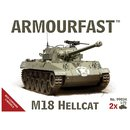 1/72 Armourfast M18 Hellcat: Pack includes 2 snap...