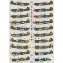 1/72 DK Decals Curtiss P-40E/P-40F/P-40K in over the...