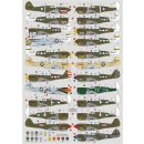 1/72 DK Decals Curtiss P-40K/P-40M/P-40N in over the...