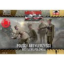 1/72 First To Fight Kits Polish Artillerymen figures