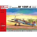 1/72 AZ Model Messerschmitt Bf-109F-4 captured, 2 RAF and...