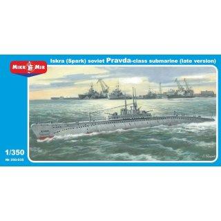 1:350 Mikro-Mir Britisches U-Boot M-Klasse NEU ! Ätzteile Plastik