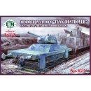 """1/72 Unimodel Armored Platform """"Tank Destroyer"""""""
