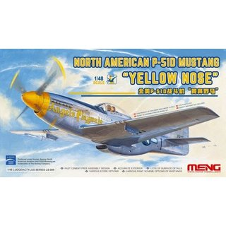 1/48 Meng Model North American P-51D MustangYelloe Nose