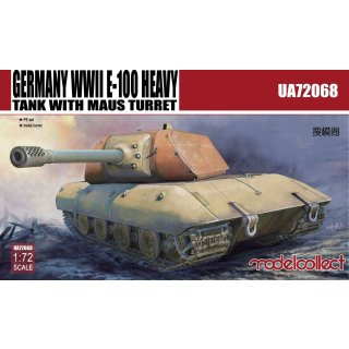 1:72 Modelcollect Germany WWII E-100 Heavy Tank with Mouse turret