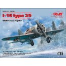 1/32 ICM Polikarpov I-16 type 29 WWII Soviet Fighter
