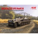 1:35 ICM Sd.Kfz.251/6 Ausf.A,WWII German Armoured Command...