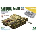 1/35 Takom Pz.Kpfw.V Ausf.D Panther Early/Mid with full...