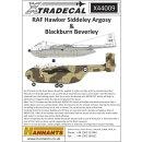 1/144 Xtradecal RAF Hawker-Siddeley Argosy &...