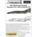 1/48 Xtradecal McDonnell-Douglas FG.1/FGR.2 Phantom Royal...