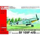 """""""1/72 AZ Model Messerschmitt Bf-109F-4/B..."""