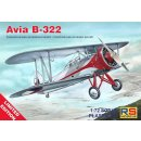 1/72 RS Models Avia B-322 resin fuselage with injection...