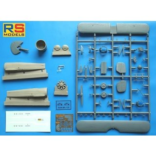 1/72 RS Models Avia B-222 Czechoslovak Acrobatic Aircraft resin fuselage?
