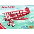 1/72 RS Models Avia B-222 Czechoslovak Acrobatic Aircraft...