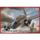 1/72 IBG Models PZL.37A Los (single tail fin) - Polish...