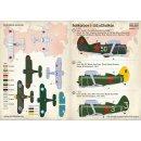 """1/72 Print Scale Polikarpov I-153..."