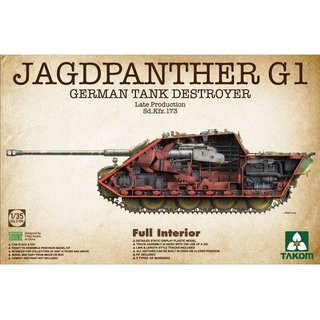 1:35 Takom Jagdpanther G1 Late Production Sd.Kfz173