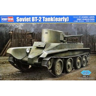 1:35 Hobby Boss Soviet BT-2 Tank (early version)