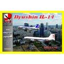1/144 BIGMODEL Ilyushin Il-14 Aeropol