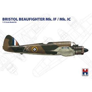 1/72 Hobby 2000 Bristol Beaufighter Mk.IF/Mk.IC (ex Hasegawa)