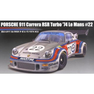 1/24 Fujimi Porsche 911 Carrera RSR turbo 1974 LeMans #22