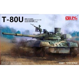1/35 RPG Russian Main Battle Tank T-80U