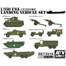 1/350 AFV Club USA WWII Landing Vehicle Set