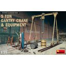 1/35 Mini Art 5 Ton Gantry Crane & Equipment