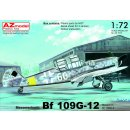 1/72 AZ model Bf-109 G12 Two Seater
