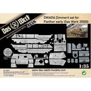 1/35 Das Werk Zimmerit set for Panther early
