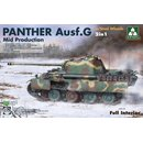 1/35 Takom Panther Ausf.G mid prod. with Steel Wheels /...
