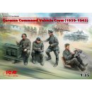 1:35 ICM German Command Vehicle Crew (1939-1942) (4 figures)
