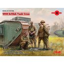 1:35 ICM WWI British Tank Crew (4 figures)