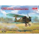 1:72 ICM I-153,WWII China Guomindang AF Fighter