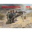 1:35 ICM WWI German MG08 MG Team (2 figures)