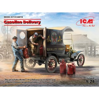 1:24 ICM Gasoline Delivery, Model T 1912 Delivery
