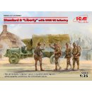 1:35 ICM Standard BLiberty with WWI US Infantry Limited